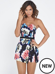 myleene-klass-printed-skort-playsuit