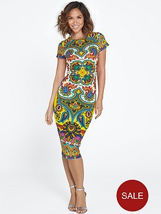 myleene-klass-printed-scuba-dress