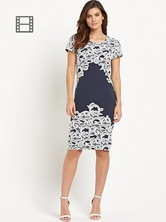 berkertex-contrast-lace-dress