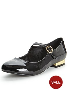 shoe-box-peaches-round-toe-bar-heel-with-gold-heel-shoes