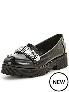 shoe-box-pheonix-jewel-detail-chunky-loafers