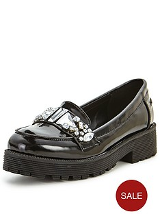 shoe-box-pheonix-jewel-detail-chunky-loafers
