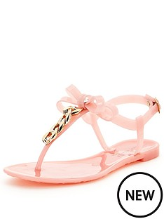 shoe-box-marcie-bow-front-chain-toepost-jellie-sandals