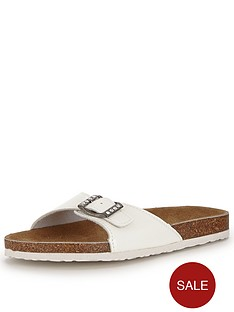 shoe-box-kathy-footbed-flat-buckle-front-sandals-white