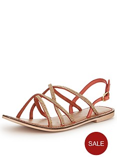 shoe-box-raquel-strappy-diamante-sandals-coral