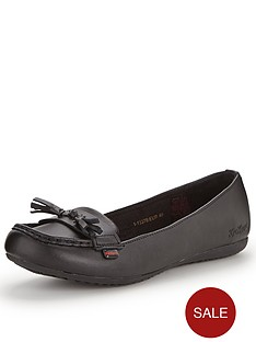 kickers-verda-tass-moccasin-flat-leather-shoes