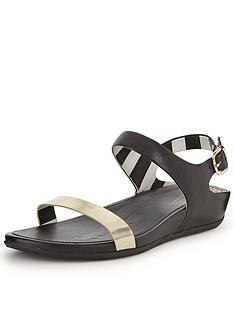 fitflop-ff2-banda-gold-two-strap-sandals