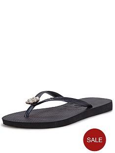 havaianas-embellished-black-flip-flops