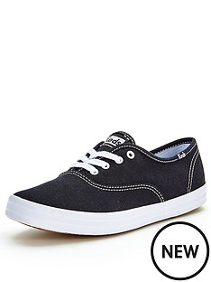 keds-core-champion-black-lace-up-canvas-shoes