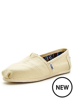 toms-classic-natural-slip-ons