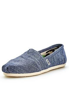 toms-classic-blue-slip-on-canvas-espadrille