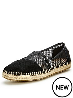 toms-classic-black-mesh-slip-ons-espadrille