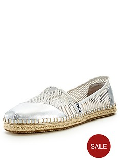 toms-classic-silver-mesh-slip-on-espadrille