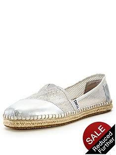 toms-classic-silver-mesh-slip-on-espadrille