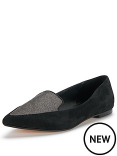 dune-austine-suede-pointed-flats
