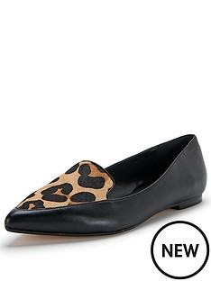 dune-austine-leopard-print-pointed-flats