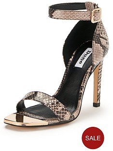 dune-maggi-snake-print-two-part-sandals