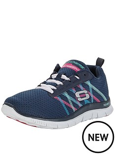 skechers-flex-appeal-something-for-the-weekend-lace-ups