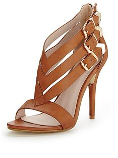 glamorous-strappy-heeled-sandals