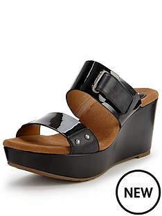 clarks-caslynn-roza-two-black-strap-wedge-mule-sandals
