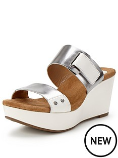 clarks-caslynn-roza-two-pewter-strap-wedge-mule-sandals