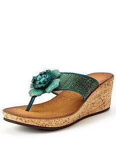 clarks-rais-claire-wedge-sandals-teal