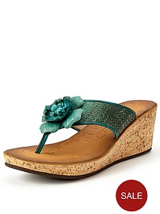 clarks-rais-claire-wedge-sandals-teal
