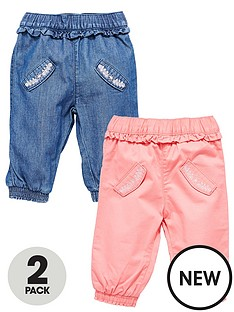 ladybird-baby-girls-denimtwill-jeans-2-pack