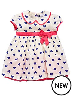 ladybird-baby-girls-peter-pan-collar-heart-dress-set