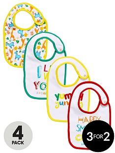 ladybird-baby-unisex-bibs-4-pack