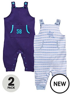 ladybird-baby-boys-2-pack-dungarees