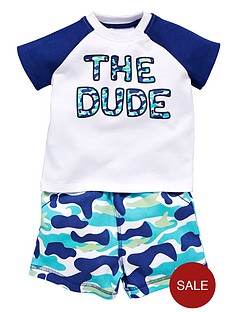 ladybird-baby-boys-the-dude-2-piece-top-and-shorts-set
