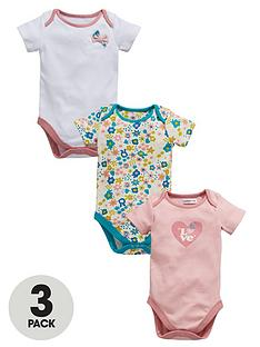 ladybird-baby-girls-pretty-face-bodysuit-3-pack