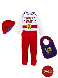 ladybird-baby-boys-superman-novelty-set-4-piece