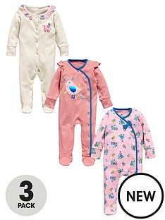 ladybird-baby-girls-cute-love-popper-front-sleepsuits-3-pack
