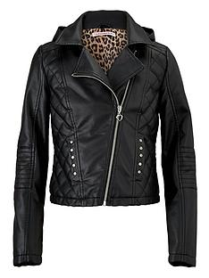 freespirit-girls-biker-jacket-with-detachable-hood