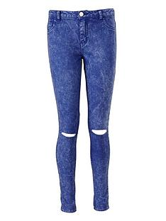 freespirit-girls-ripped-knee-skinny-jeans-acid-wash