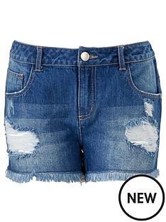freespirit-girls-ripped-boyfriend-shorts