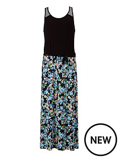 freespirit-girls-geo-floral-maxi-dress