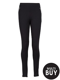 freespirit-girls-zipped-pu-panel-ponte-leggings