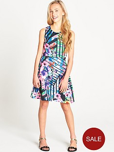 freespirit-girls-double-layer-scuba-dress