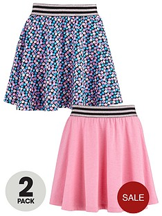 freespirit-girls-skater-skirts-with-lurex-elastic-waistbands-2-pack
