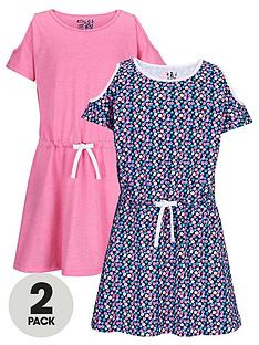 freespirit-girls-fashion-basics-cold-shoulder-dresses-2-pack