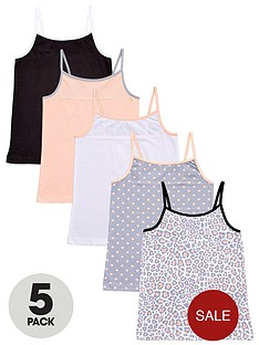 freespirit-girls-colour-and-animal-vests-5-pack