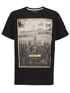 demo-boys-nyc-foil-print-t-shirt