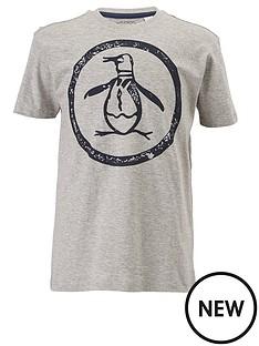 penguin-short-sleeve-logo-tee