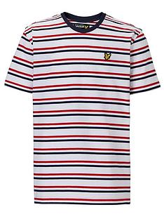 lyle-scott-short-sleeve-stripe-tee
