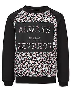 name-it-girls-printed-crew-neck-sweater