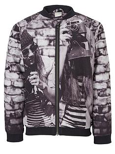name-it-photo-print-bomber-jacket
