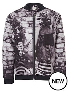 name-it-photo-print-bomber-jacket